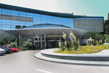One hour drive from Ljubljana in direction of Portorož will safely take you to Grand Hotel Bernardin. Grand Hotel Bernardin Obala 2 6320 Portoroz View on Google Maps