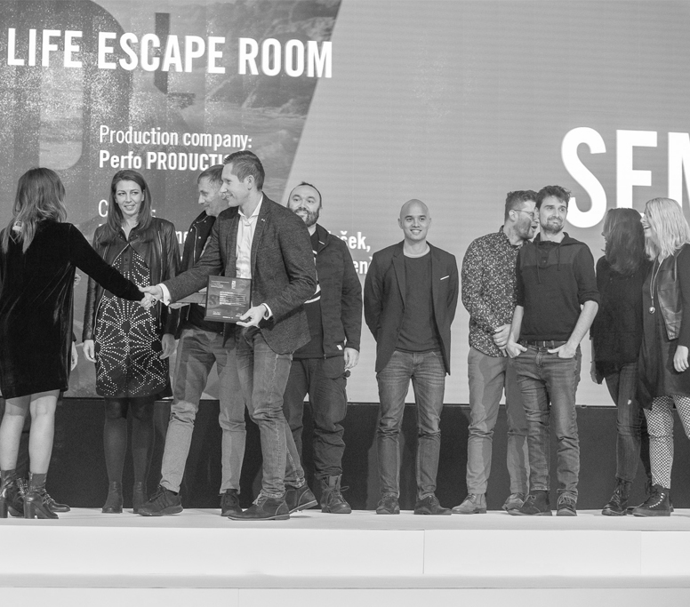 """The Grand Sempler goes to """"The Real Life Escape Room"""" by UNICEF Slovenia and Agencija 101"""